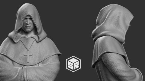 Monk  - 3D Print Ready