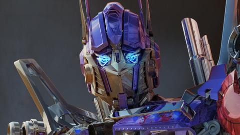 Optimus Prime- Transformer 3d model only