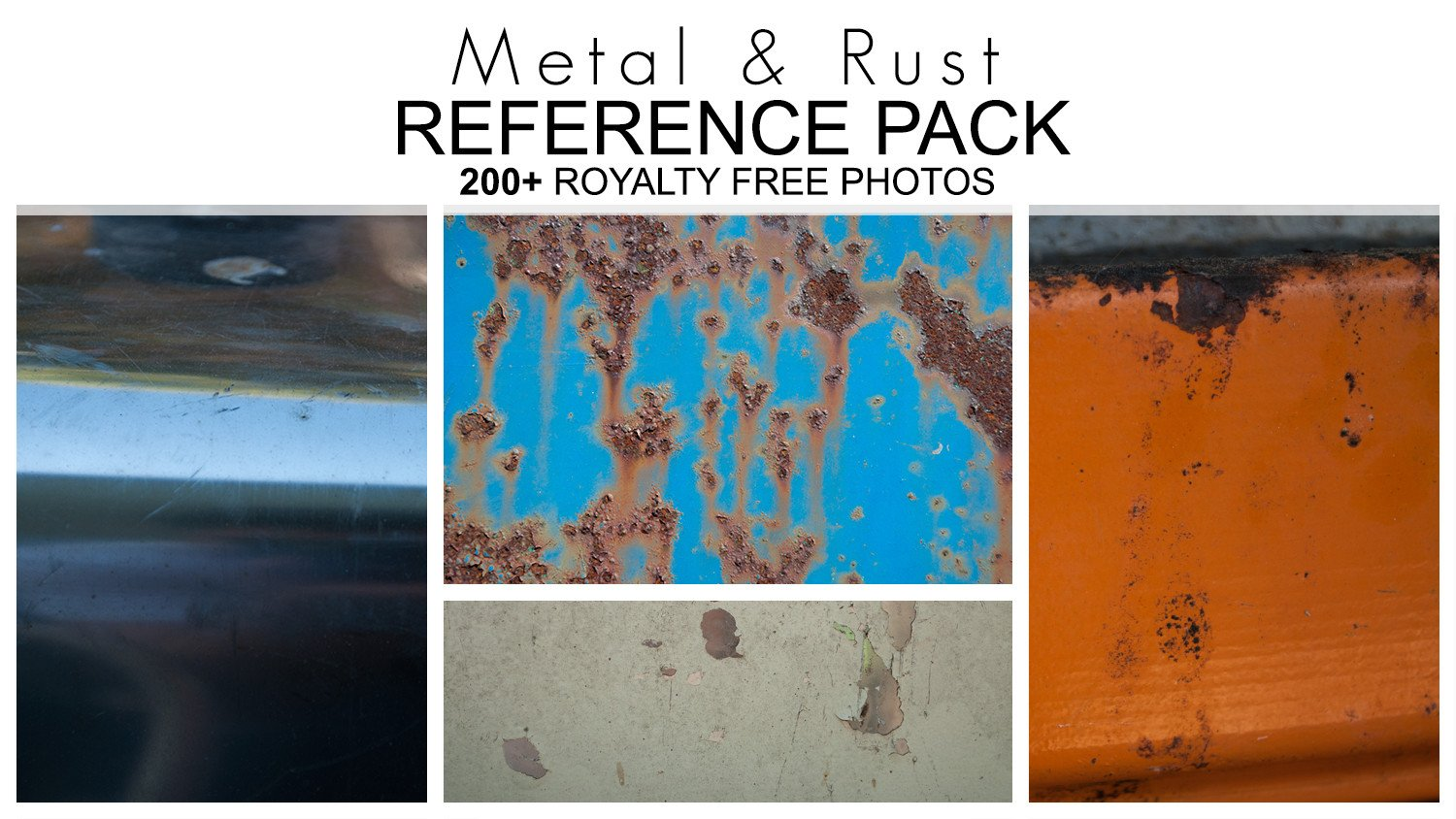 Tom Lopez - Reference Pack - Metal & Rust - 200+ Royalty