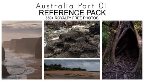 Reference Pack - Australia - Part 01 - 350+ Royalty Free Photos