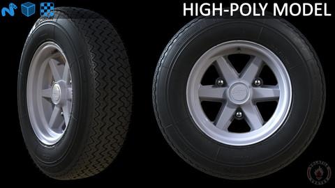 Michelin XAS tire with Gotti bi-metal rim