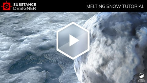 Melting Snow | Substance Designer Tutorial