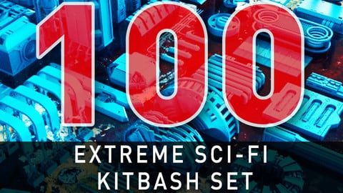 Extreme Sci-Fi Kit Bash Set