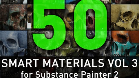 Substance Painter Smart Materials Vol. 3