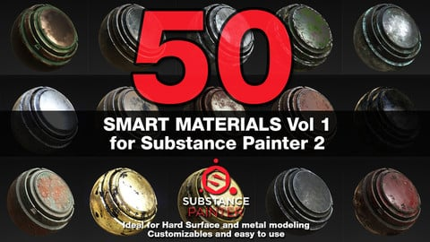 Substance Painter Smart Materials Vol. 1