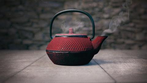Japanese Teapot Photoscan
