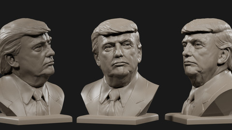 Donald Trump bust №4
