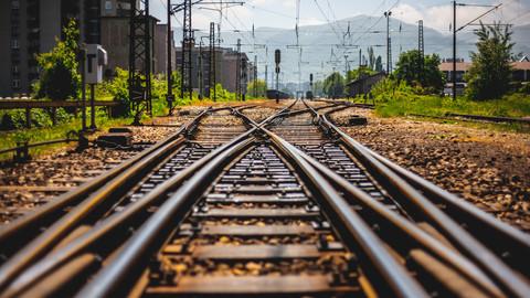 Train tracks - Photo Pack