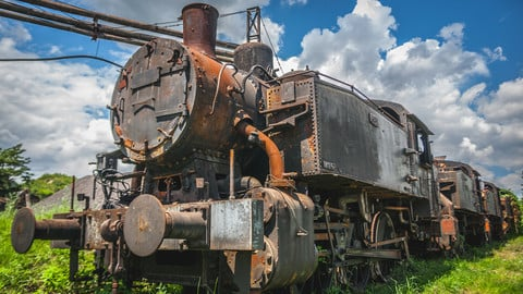 Old train - Photo Pack