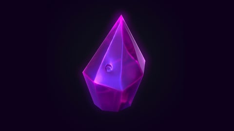 Stylized Crystals in Marmoset - Working Files