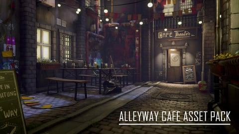Alleyway Cafe Asset Pack