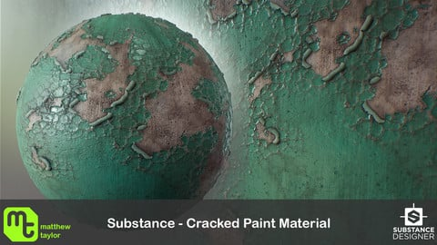 Substance - Cracked Paint Material