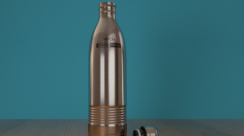 Milton Water Bottle - Thermo Steel Low-poly 3D Model