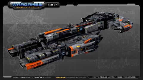Federation Destroyer GX2