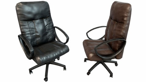 Old Office Chair PBR
