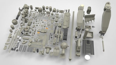Mechanics collection 1 Kitbash