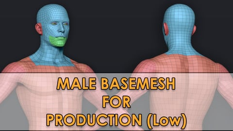 Male Basemesh (low poly) V2