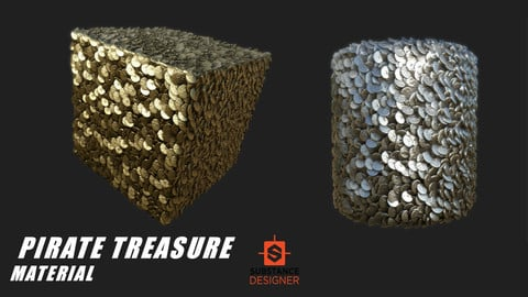 Pirate Treasure Material