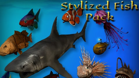 Stylized Fish Pack