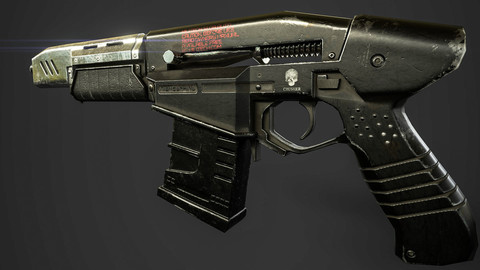 Gun - Cyberpunk 2077