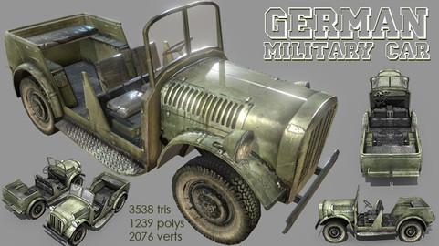 German WWII Military Car