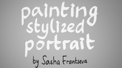 Painting Stylized Portrait