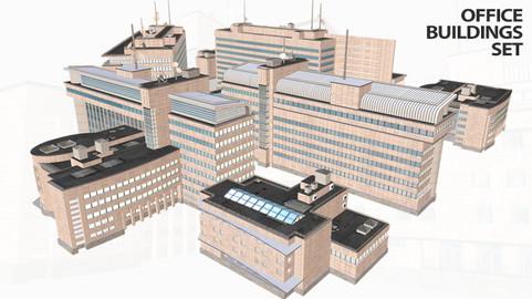 Modern Buildings Set