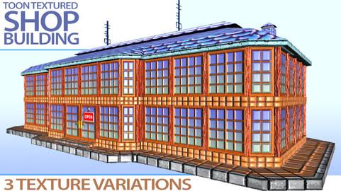 Toon Textured Shop Building