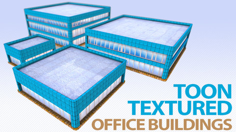 Toon Textured Office Building