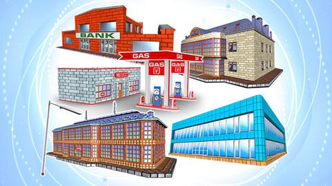 TOON TEXTURED BUILDINGS PACK