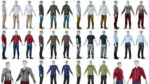 10 Casual Clothing Collection Male 1