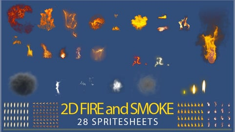 2D Fire effects