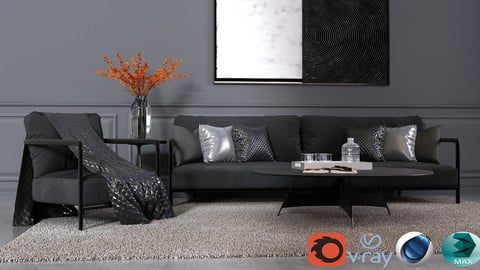 MODERN LIVING ROOM VOL4