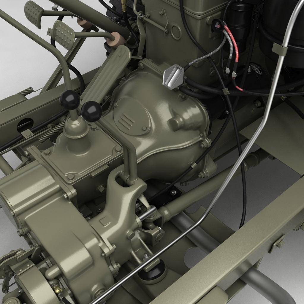 Artstation Zoltn Nagy Willys Jeep Electrical Wiring