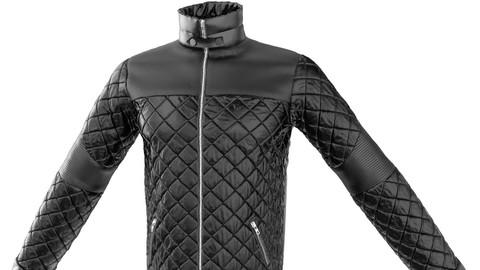 Marvelous Designer Leather Jacket (MD Garment File)