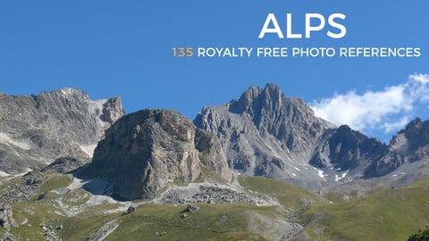 Alps - Mountains Reference Pack