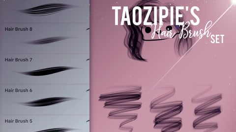 Taozipie's Second Hair Set