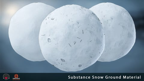 Substance - Snow Ground Material