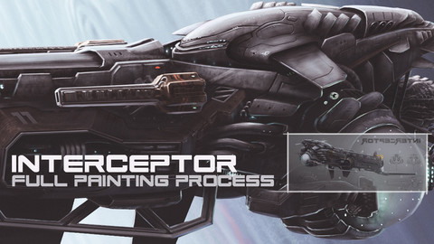 Interceptor [full painting process in Photoshop]
