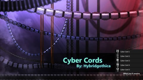 Cyber Cords Brushes.