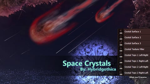Space Crystals Brushes.