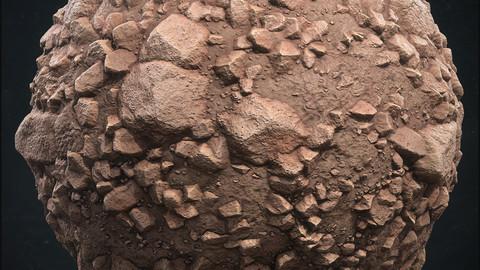 Desert Rocky Ground - Substance Designer