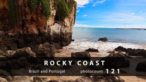 Rocky coast photopack