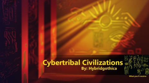 Cybertribal Civilizations Brushes.