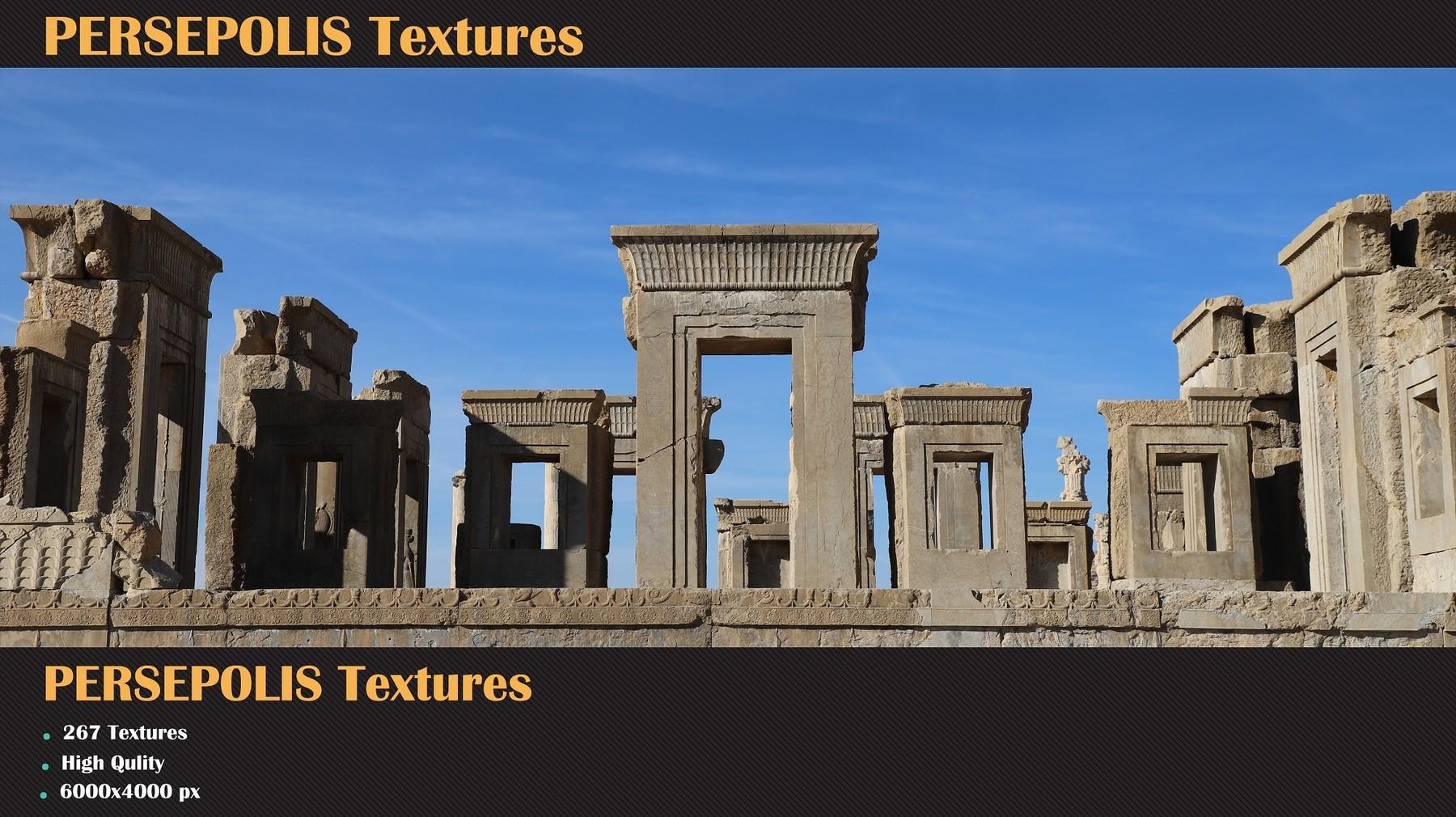 Artstation Persepolis Textures Resources