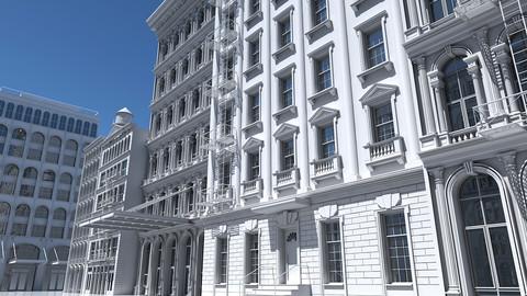 Street Building Facade Collection
