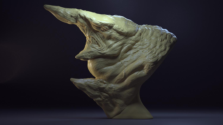 Leo Haslam - Monster Bust: