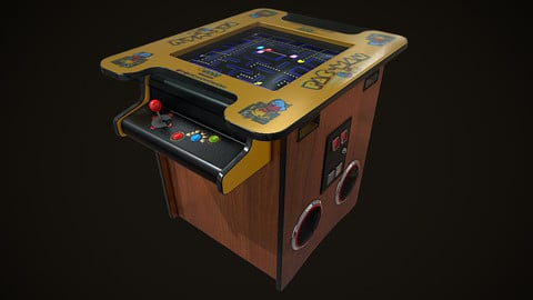 Classic Arcade Game Machine ( Cocktail Table )