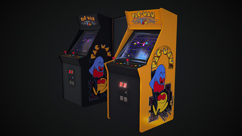 Classic Arcade Game Machine