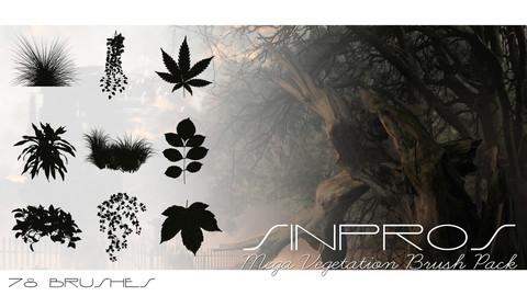 Sinpros Mega Vegetation Brush Pack